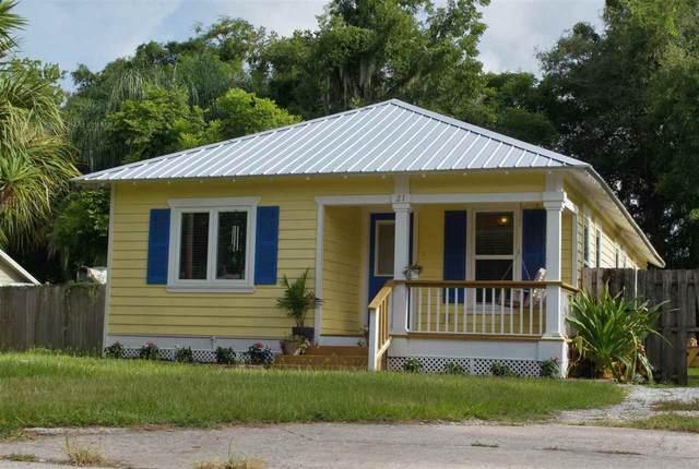 21 Aviles Dr, St Augustine, FL 32084 (MLS #214307) :: Endless Summer Realty