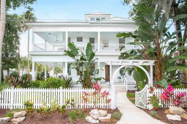 38 Water Street, St Augustine, FL 32084 (MLS #214809) :: Better Homes & Gardens Real Estate Thomas Group