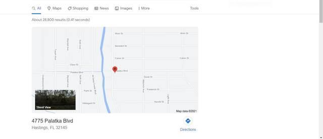 4775 Palatka Blvd, Hastings, FL 32145 (MLS #215253) :: Better Homes & Gardens Real Estate Thomas Group