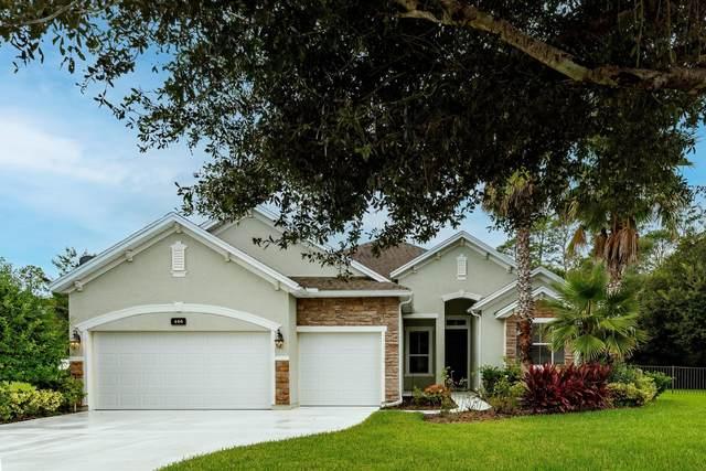 466 Hefferon Drive, St Augustine, FL 32084 (MLS #216926) :: 97Park