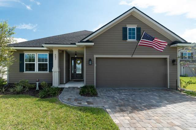 647 Sandstone Drive, St Augustine, FL 32086 (MLS #216980) :: The Collective at Momentum Realty