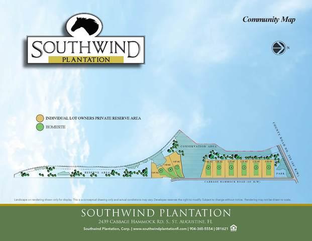 2635 Cabbage Hammock Rd, St Augustine, FL 32092 (MLS #217470) :: 97Park