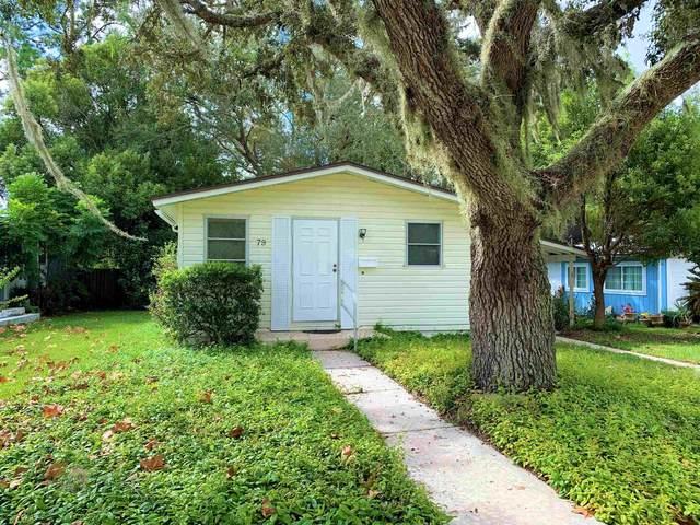 79 Deltona Blvd, St Augustine, FL 32086 (MLS #218026) :: Olde Florida Realty Group