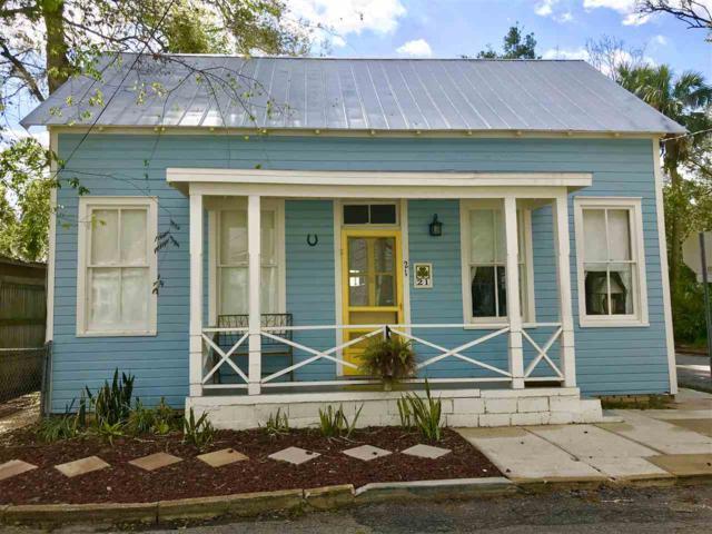 21 Mulberry St, St Augustine, FL 32084 (MLS #175469) :: 97Park