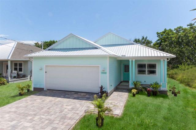 5448 Fourth Street, St Augustine, FL 32080 (MLS #180175) :: Memory Hopkins Real Estate