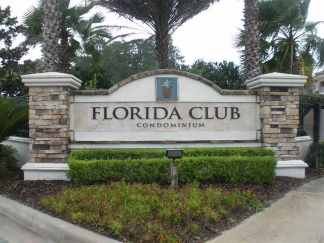 550 Florida Club Blvd #307, St Augustine, FL 32084 (MLS #187826) :: 97Park
