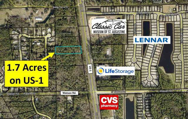 0 Us-1 South, St Augustine, FL 32086 (MLS #188533) :: Keller Williams Realty Atlantic Partners St. Augustine