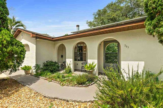 361 Shamrock Rd, St Augustine, FL 32086 (MLS #196438) :: The Newcomer Group