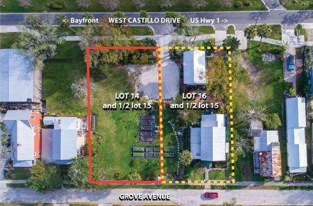 28 W Castillo Drive Lot 14 & 1/2 Lot 15, St Augustine, FL 32084 (MLS #196989) :: Memory Hopkins Real Estate