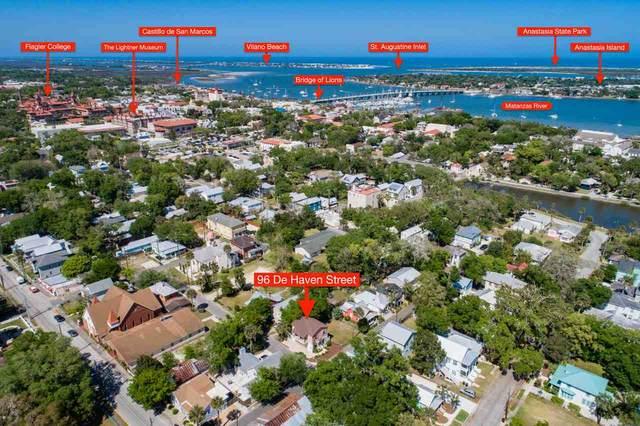 96 De Haven St., St Augustine, FL 32084 (MLS #212202) :: Noah Bailey Group