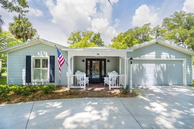 16 Magnolia Ave, St Augustine, FL 32084 (MLS #213040) :: 97Park