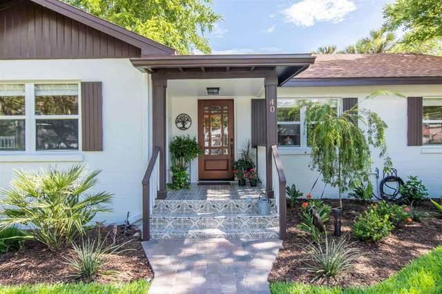 40 E Park Ave, St Augustine, FL 32084 (MLS #213842) :: Noah Bailey Group