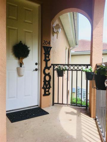 450 La Travesia Flora #204, St Augustine, FL 32095 (MLS #180754) :: Memory Hopkins Real Estate