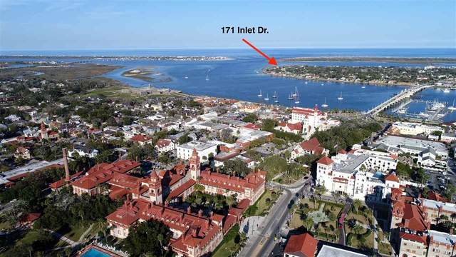 171 Inlet Dr, St Augustine, FL 32080 (MLS #200505) :: The Newcomer Group