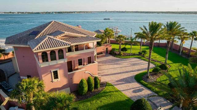 409 Porpoise Point Dr, St Augustine, FL 32084 (MLS #210327) :: The Perfect Place Team