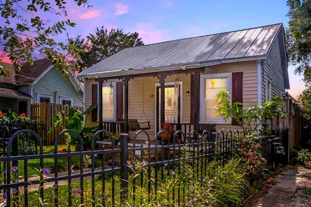 13 Myrtle Ave, St Augustine, FL 32084 (MLS #180154) :: Florida Homes Realty & Mortgage