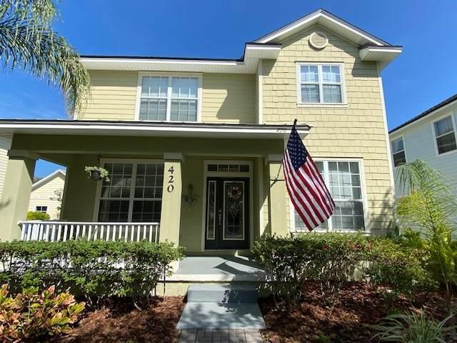 420 High Tide Drive, St Augustine, FL 32080 (MLS #194389) :: Keller Williams Realty Atlantic Partners St. Augustine