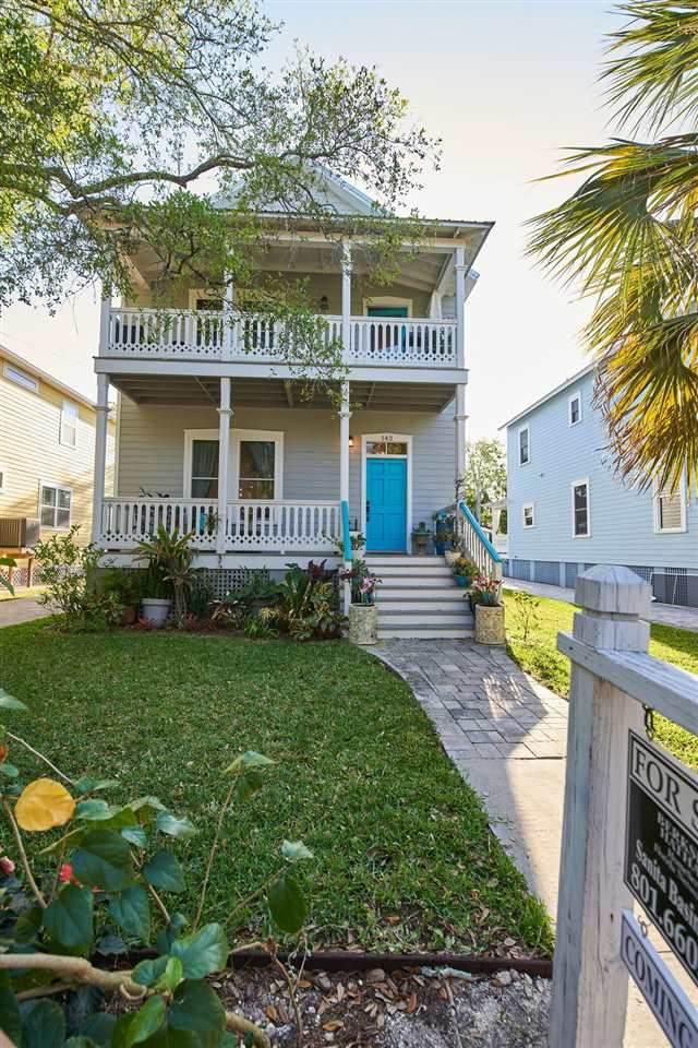 142 Twine St, St Augustine, FL 32084 (MLS #212241) :: CrossView Realty