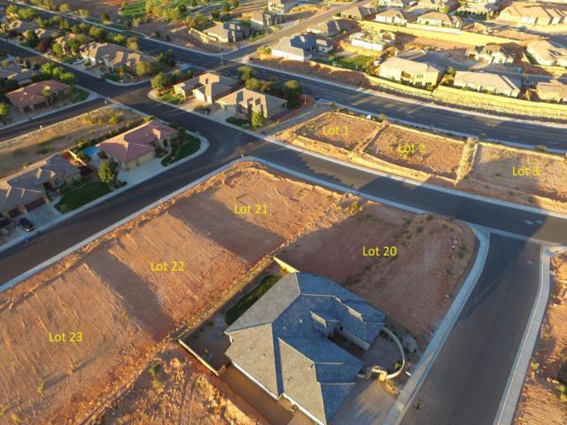 Washington Vista Lot 22, Washington, UT 84780 (MLS #17-188922) :: Saint George Houses