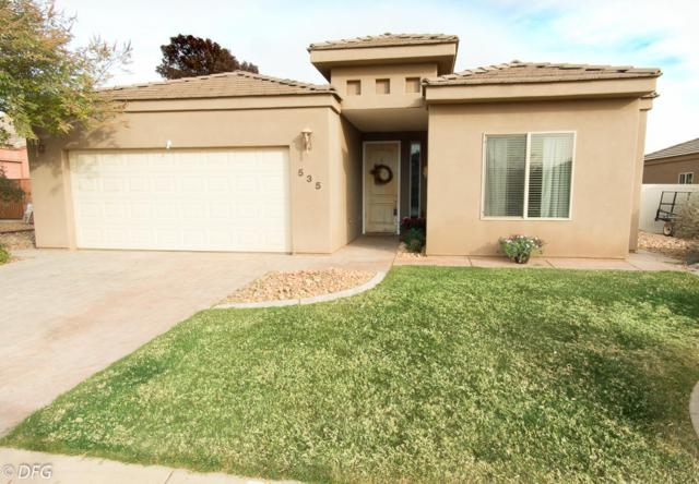 535 S 625 E, Ivins, UT 84738 (MLS #17-189711) :: Remax First Realty