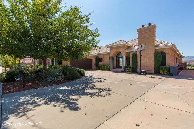 823 N Dusk Dr, St George, UT 84770 (MLS #18-191179) :: Remax First Realty