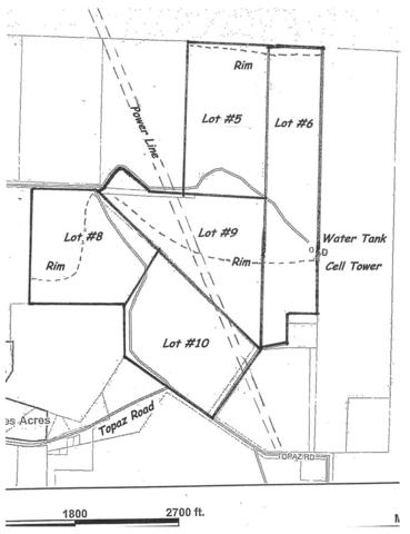 23 Acres Topaz Rd in Diamond Valley Lot #9, St George, UT 84770 (MLS #18-199096) :: Remax First Realty
