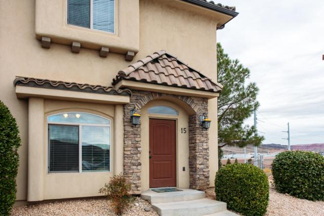 2075 Sir Monte Dr #15, St George, UT 84770 (MLS #18-199459) :: Remax First Realty