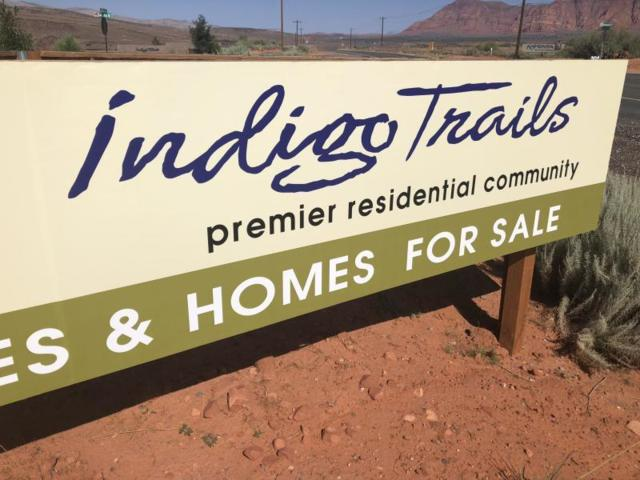 600 W Lot # 44 W, Ivins, UT 84738 (MLS #19-200159) :: Remax First Realty