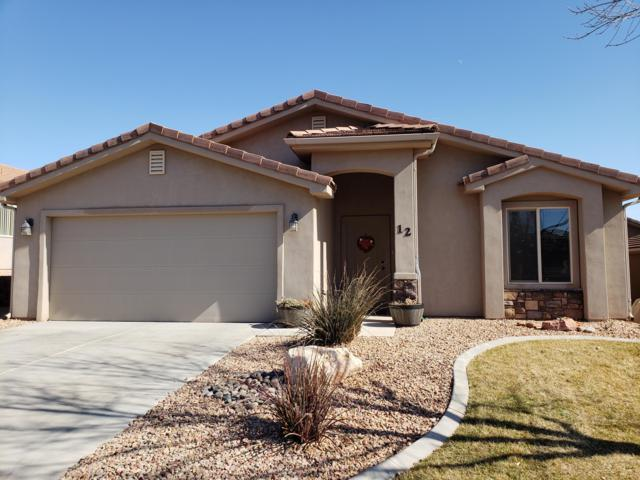 2031 E Colorado Dr #12, St George, UT 84790 (MLS #19-201166) :: The Real Estate Collective