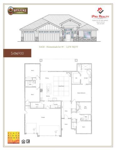 4836 S Homestead Way, Washington, UT 84780 (MLS #19-202934) :: Diamond Group