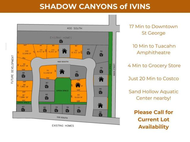 Shadow Canyons Of Ivins, Ivins, UT 84738 (MLS #19-203835) :: Remax First Realty
