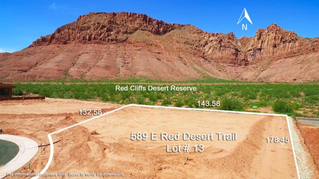 589 E Red Desert Trail Lot # 13, Ivins, UT 84738 (MLS #19-203895) :: Remax First Realty