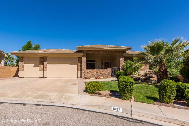 1827 Boulder Springs, St George, UT 84790 (MLS #19-207363) :: The Real Estate Collective