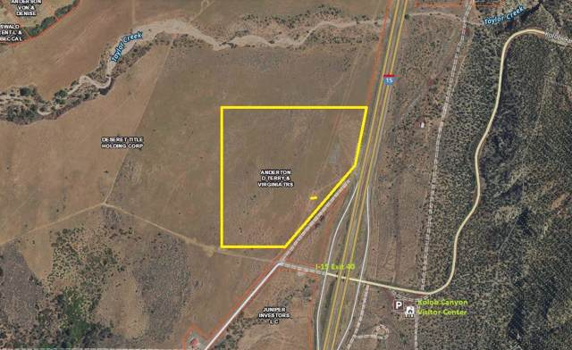 49.99 Ac Old Hwy 91, New Harmony, UT 84757 (MLS #19-208718) :: The Real Estate Collective