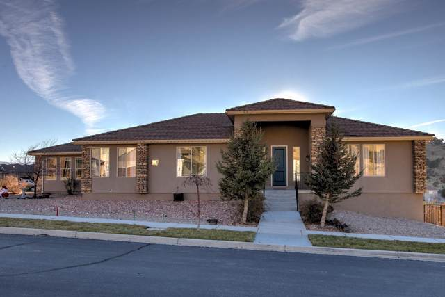 420 E Hillview Dr, Cedar City, UT 84721 (MLS #19-209086) :: St George Team