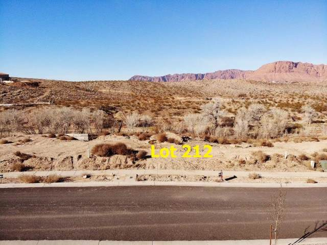 1487 Colbey Lp Lot 212, Santa Clara, UT 84765 (MLS #20-210065) :: Remax First Realty
