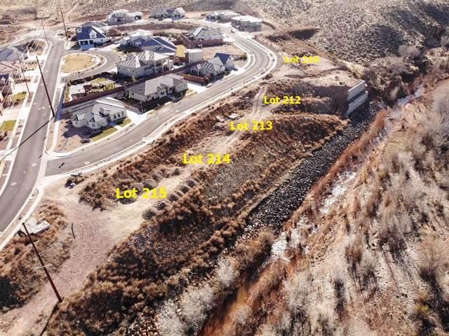 1517 Colbey Lp Lot 215, Santa Clara, UT 84765 (MLS #20-210068) :: Remax First Realty