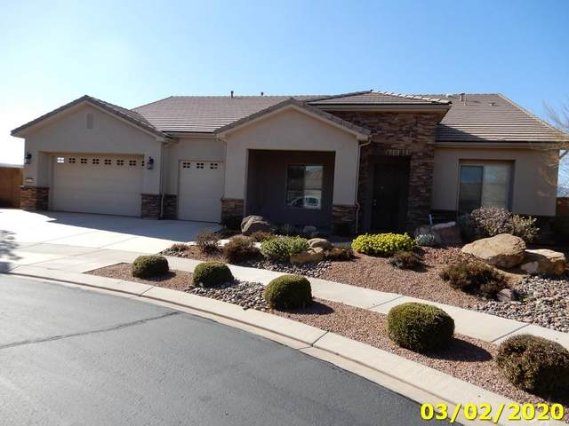 2174 W Destiny Point Cir, St George, UT 84790 (MLS #20-211946) :: Remax First Realty