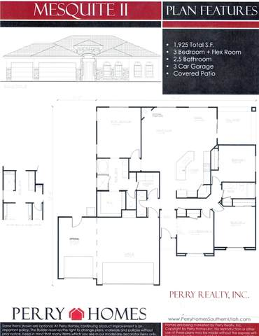 2775 S 3400 W, Hurricane, UT 84737 (MLS #20-212109) :: Remax First Realty