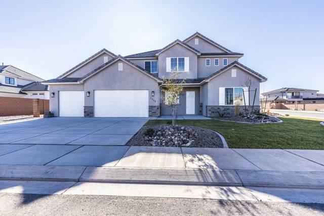 2248 E Tawny Ridge Cir, St George, UT 84790 (MLS #20-212374) :: The Real Estate Collective