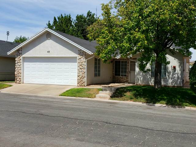 1040 N 1300 W #43, St George, UT 84770 (MLS #20-212513) :: Platinum Real Estate Professionals PLLC
