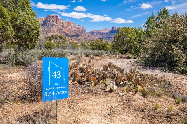 Anasazi Way #43, Springdale, UT 84767 (MLS #20-212729) :: Langston-Shaw Realty Group