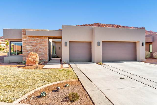 2336 W Entrada Trail #20, St George, UT 84770 (MLS #20-213414) :: The Real Estate Collective