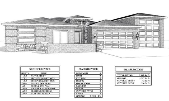5175 W 2040 E Lot 26, Hurricane, UT 84737 (MLS #20-213694) :: Team SURGE @ KW St. George