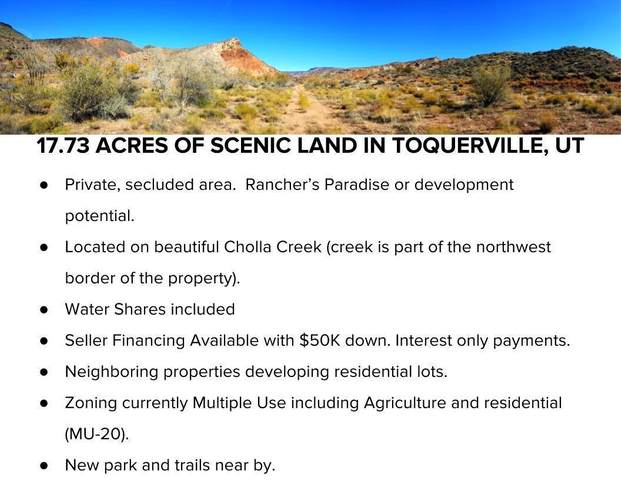 17.73 Acres, Toquerville, UT 84774 (MLS #20-213753) :: Diamond Group