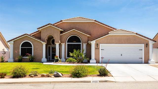 2868 E Overlook Dr, St George, UT 84790 (MLS #20-213965) :: The Real Estate Collective