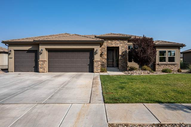 2867 E Crimson Ridge Dr, St George, UT 84790 (MLS #20-215786) :: The Real Estate Collective