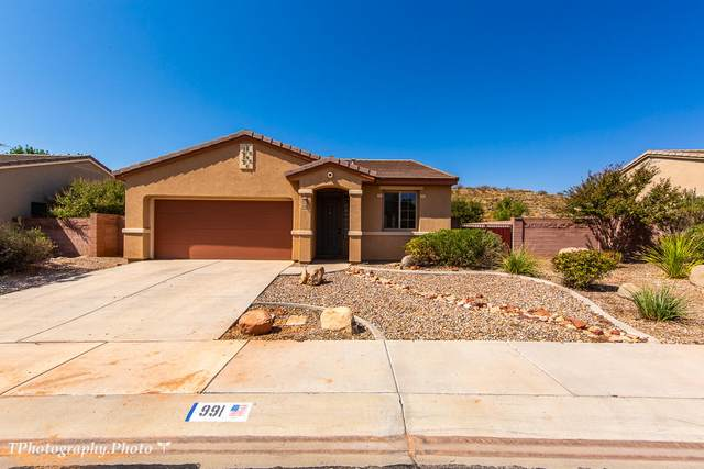 991 N Cottonwood Wash Dr, Washington, UT 84780 (MLS #20-217225) :: Team SURGE @ KW St. George