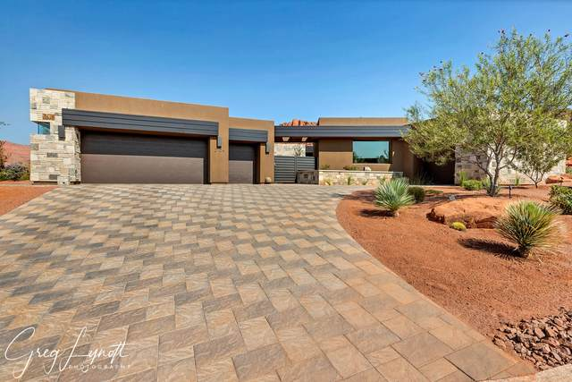 2104 W Cougar Rock, St George, UT 84770 (MLS #20-217250) :: Team SURGE @ KW St. George