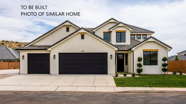 LOT 110 Tawny Ridge Dr, St George, UT 84790 (MLS #20-217317) :: The Real Estate Collective